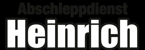 Abschleppdienst Heinrich - Bergung - Abschleppen - Reparatur - Logo