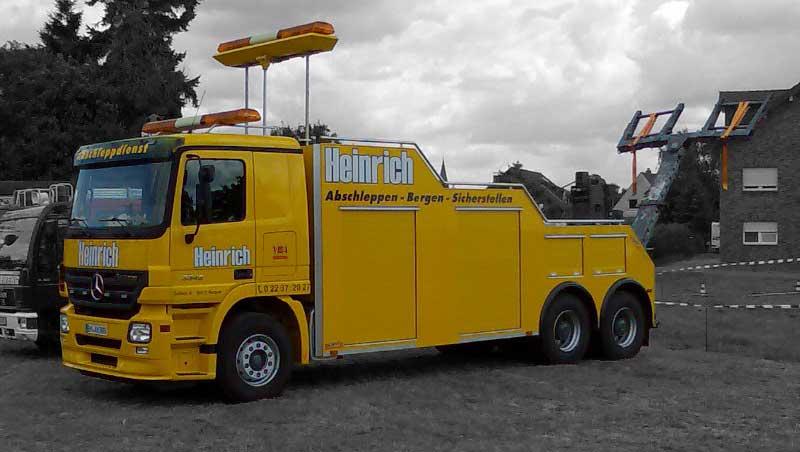 Wagen 1 - Abschleppdienst Heinrich