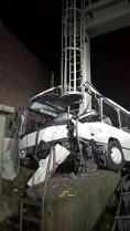 VU Bus Rastplatz Frechen A4 - Abschleppdienst Heinrich