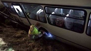 RP Frechen A4 VU Bus LKW - Abschleppdienst Heinrich