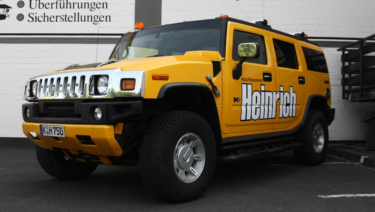 Wagen 32 vorne - Abschleppdienst Heinrich