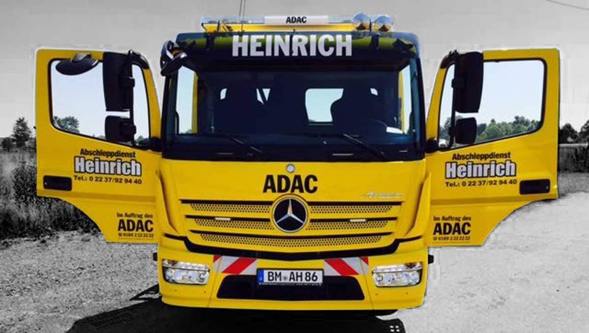 Wagen 7 front - Abschleppdienst Heinrich