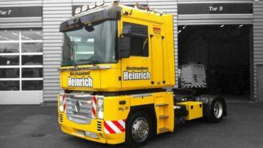 Wagen 80 Front - Abschleppdienst Heinrich