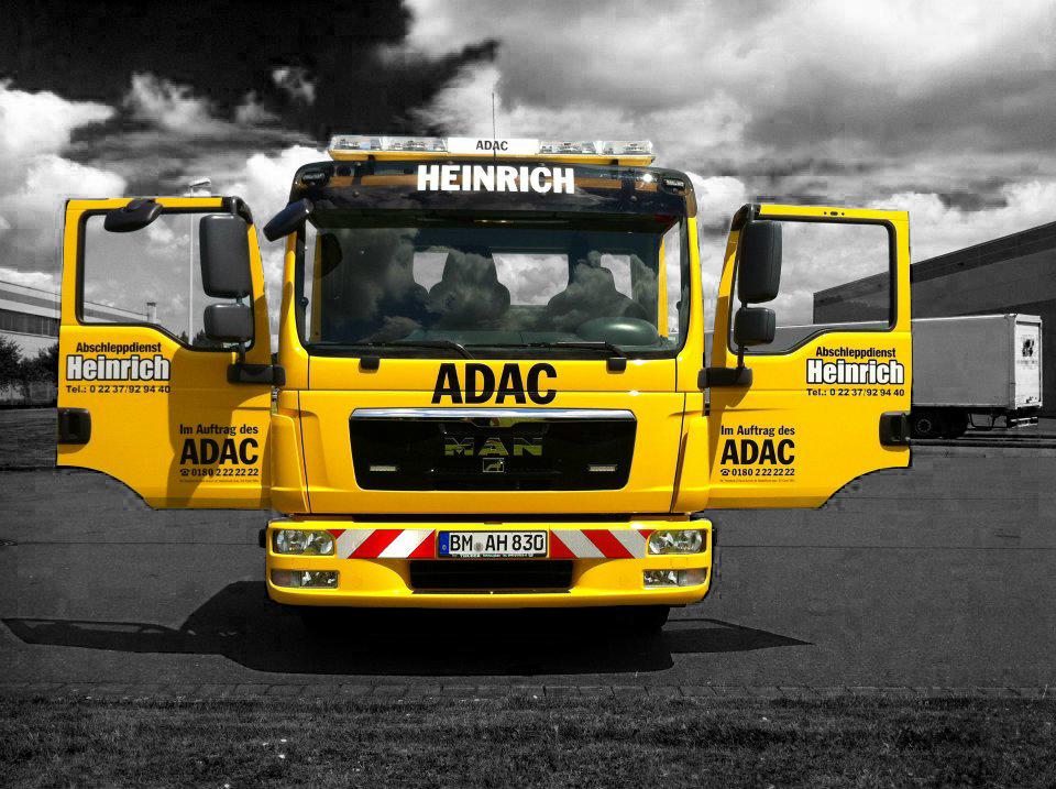 Wagen 8 Front - Abschleppdienst Heinrich