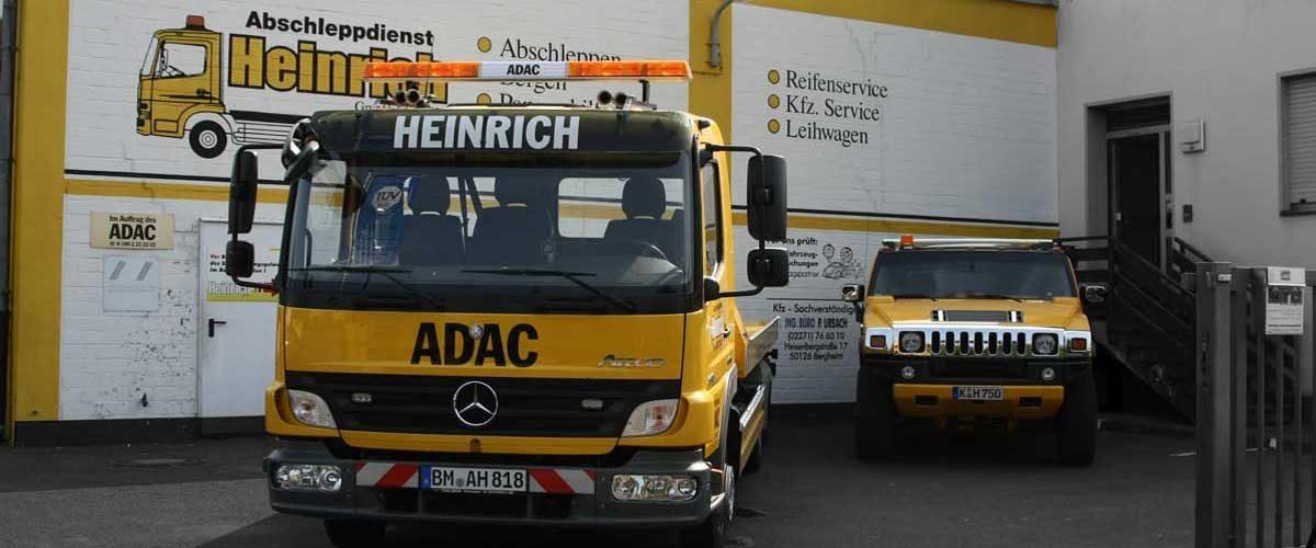Abschleppdienst-Heinrich - Standort Kerpen